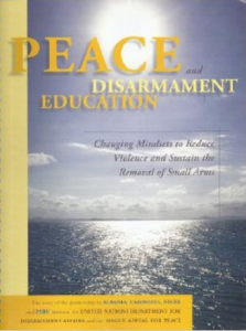 Peace and Disarmament Education: Changing Mindsets to Reduce Violence and Sustain the Removal of Small Arms (Hague Appeal for Peace) image