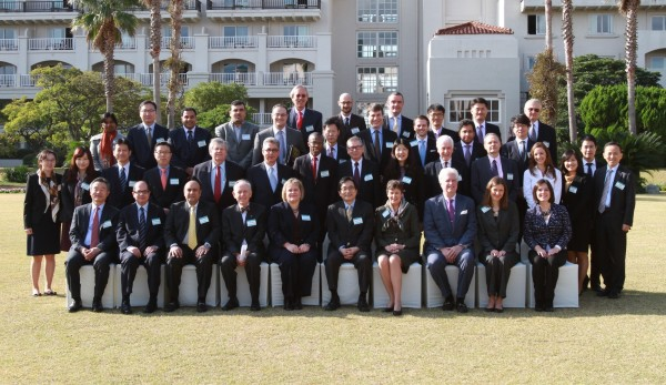 Participants at the 12th UN-RoK Joint Conference on Non-proliferation and Disarmament