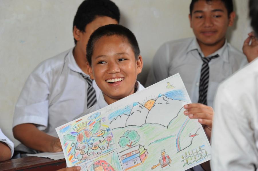 kids essays on peace