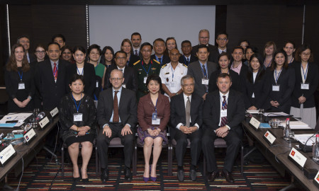 Southeast Asia Workshop on Building Capacity for the Implementation of the Arms Trade Treaty, 4 April 2016, Landmark Hotel, Bangkok, Thailand.