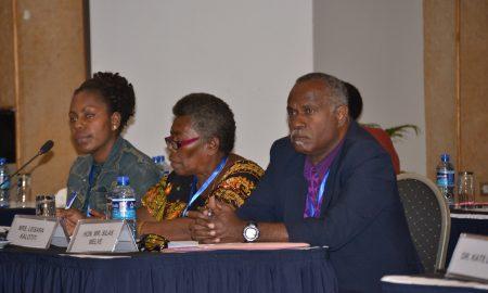 Vanuatu delegates including MP image